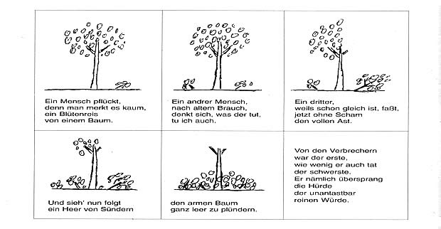 Gedicht Baum Pflanzen